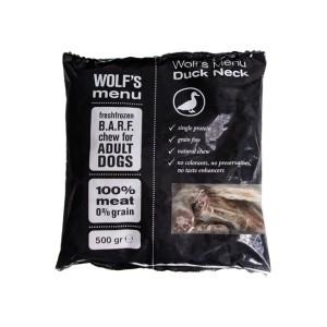 Wolf's Menu Duck Neck mrożona szyja kacza