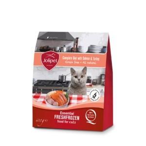 Jolipet surowa karma dla kota z mięsa łososia i indyka
