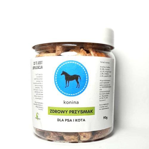 Zdrowy Przysmak konina - mięso liofilizowane