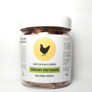 Zdrowy Przysmak serca kurczaka - mięso liofilizowane