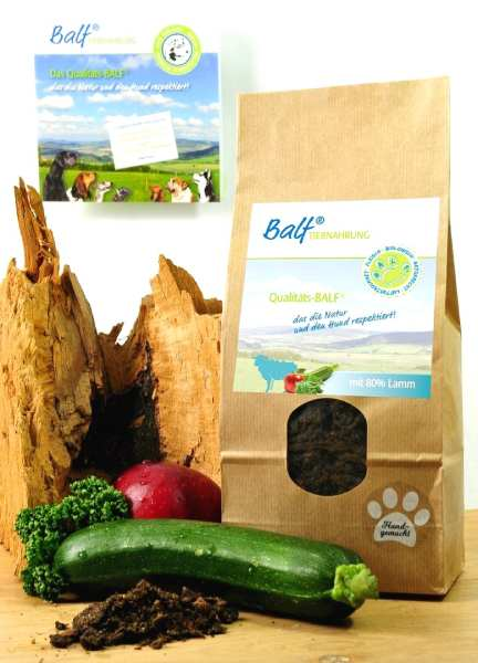 BALF jagnięcina z warzywami i owocami.