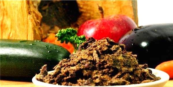 BALF wołowina na z warzywami i owocami.