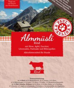 Almmüsli z wołowiną 700g dla psa | Paul&Paulina