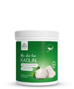 Pokusa Kaolin 200g. Naturalna biała glinka kaolinowa, zdrowy suplement dla psa i kota