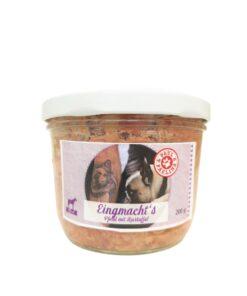 Eingmacht's Konina z ziemniakami 200g. Delikatnie gotowana potrawka dla psa.