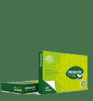 Pokusa Probiotic GreenLine FORTE. Preparat probiotyczny dla psa i kota.