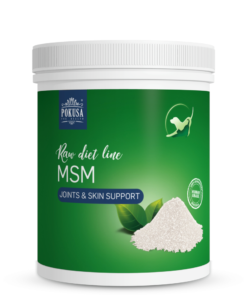 Pokusa MSM 300g - związek siarki biogennej.