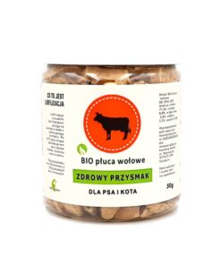 Zdrowy Przysmak - bio płuca wołowe 50g