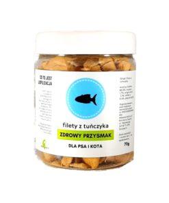 Zdrowy Przysmak - liofilizowane filety z tuńczyka 70g