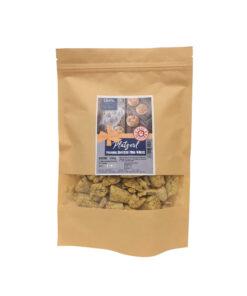 Ciastka dla psa – polenta z twarogiem, cukinią i nasionami chia 200g