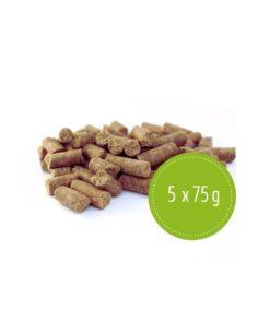 Pakiet próbny - mix karm tłoczonych na zimno (5 x 75g)